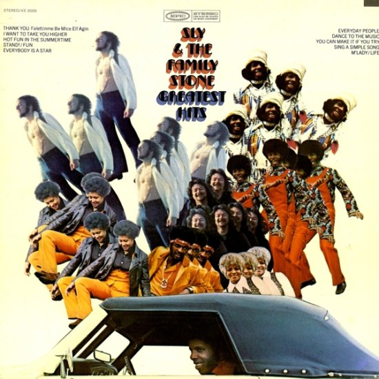 Sly & The Family Stone - Greatest Hits [record] Sly & The Family Stone