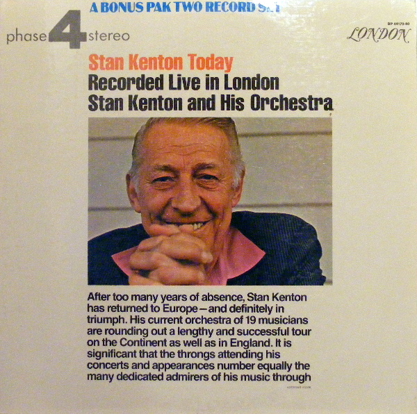 Stan Kenton Today: Recorded Live In London