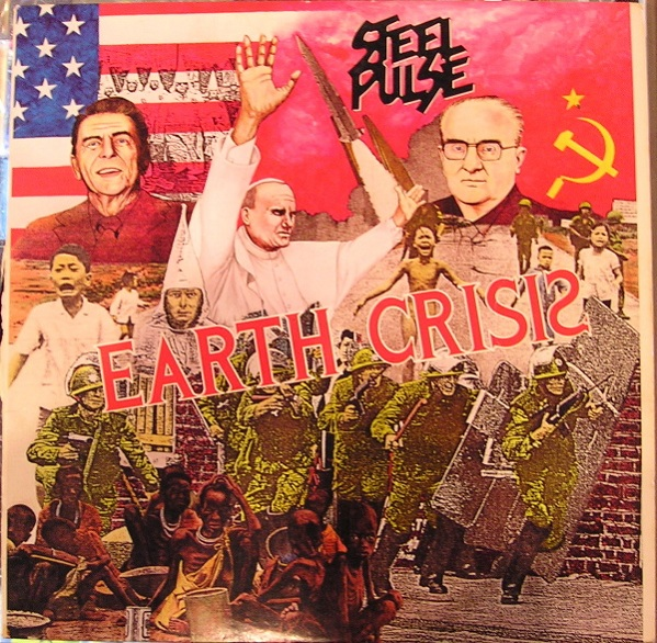Steel Pulse Vinyl Record Albums