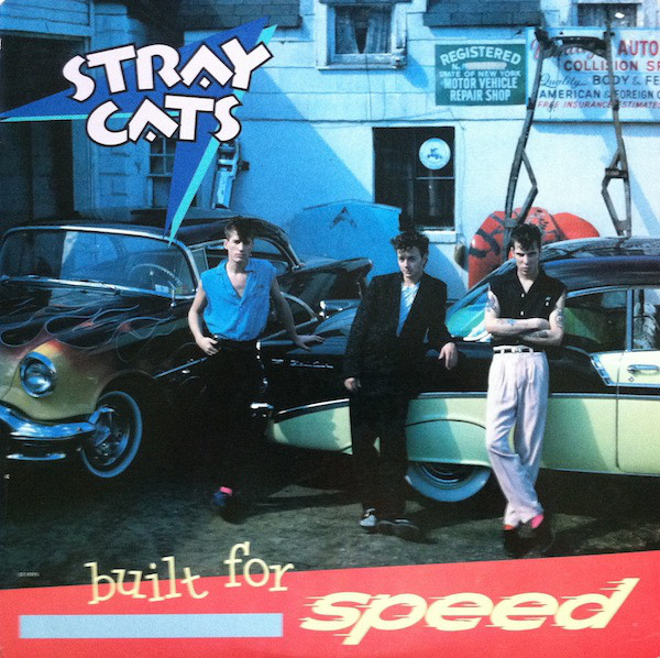 Stray Cats - Built For Speed [vinyl] Stray Cats