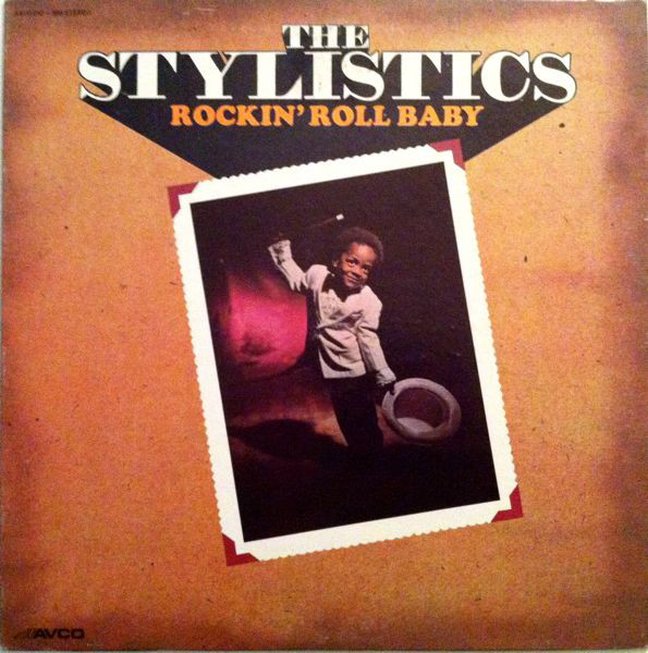 The Stylistics Rockin'+Roll+Baby LP