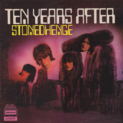 Ten Years After Vinyl Record Albums