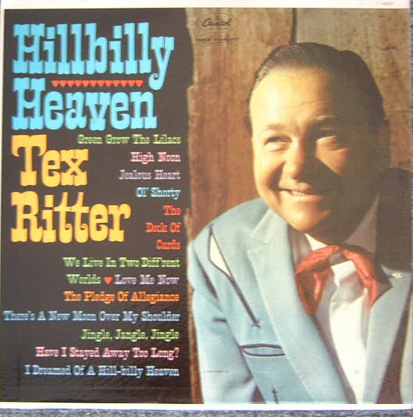Tex Ritter Vinyl Record Albums