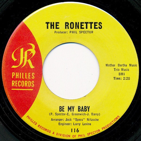 Ronettes Be My Baby Records Lps Vinyl And Cds Musicstack