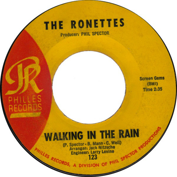 Ronettes Walking In The Rain Records Lps Vinyl And Cds