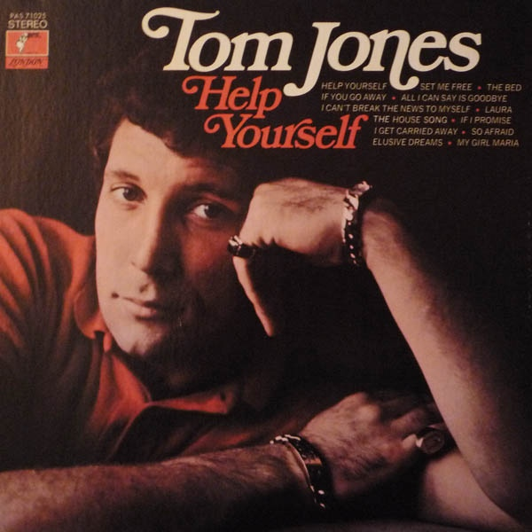 Tom Jones Vinyl Record Albums