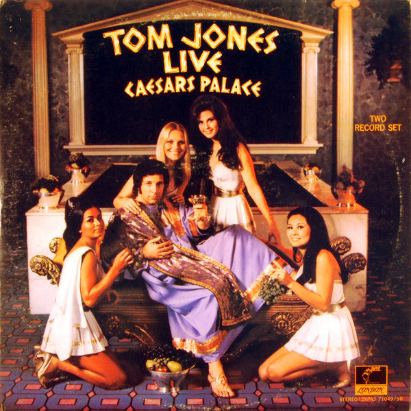 Tom Jones Live At Caesar S Palace Records Lps Vinyl And