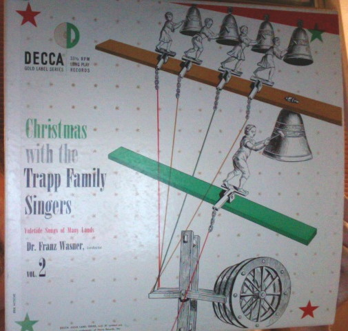 Christmas with the Trapp Family Singers LP Trapp Family Singers