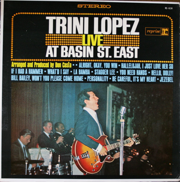 Trini Lopez - Trini Lopez Live At Basin St. East