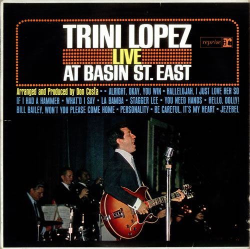 Live At Basin Street East - Trini Lopez