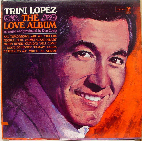 Trini Lopez - The Love Album [vinyl] Trini Lopez