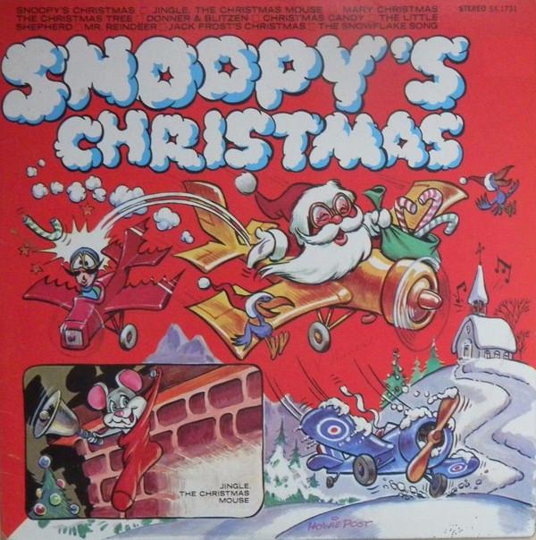 Snoopy& 39 s Christmas Vinyl