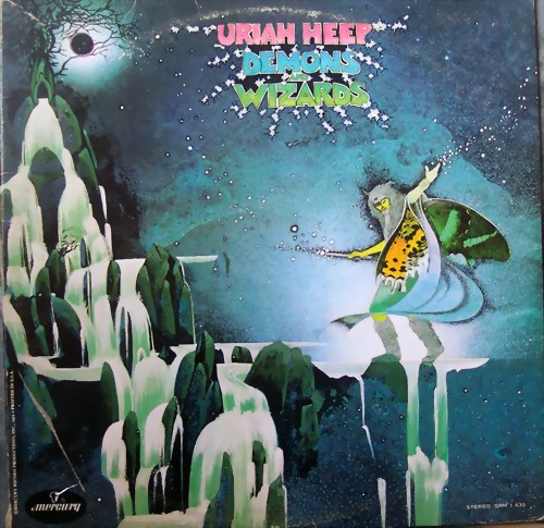 Uriah Heep Demons+And+Wizards LP