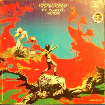 Uriah Heep The+Magician's+Birthday LP