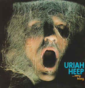 Uriah Heep Very'+Eavy+Very'+Umble LP