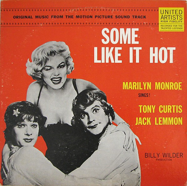 Some Like It Hot Original Music From The Motion Picture Sound Track Vinyl