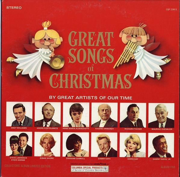 The Great Songs Of Christmas Album Five