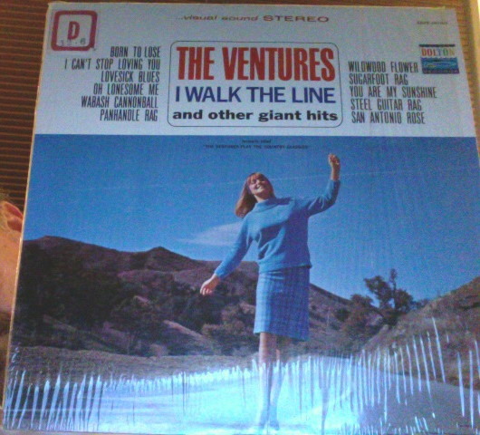 Ventures I Walk The Line And Other Giant Hits Aka The Ventures Play The Country Classics