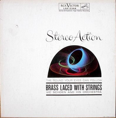 VIC SCHOEN AND HIS ORCHESTRA - Brass Laced With Strings - LP