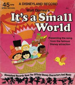 Walt disney vinyl record albums its a small world publicscrutiny Images