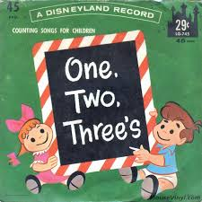One Two Threes Counting Songs For Children