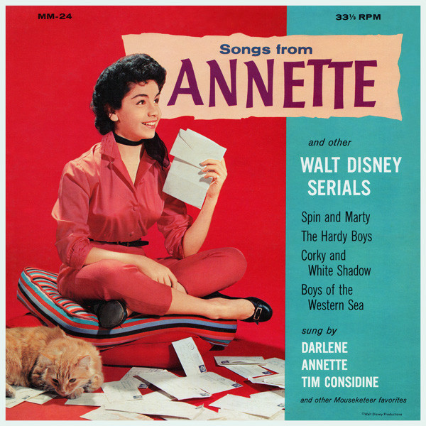 Songs From Annette And Other Walt Disney Serials