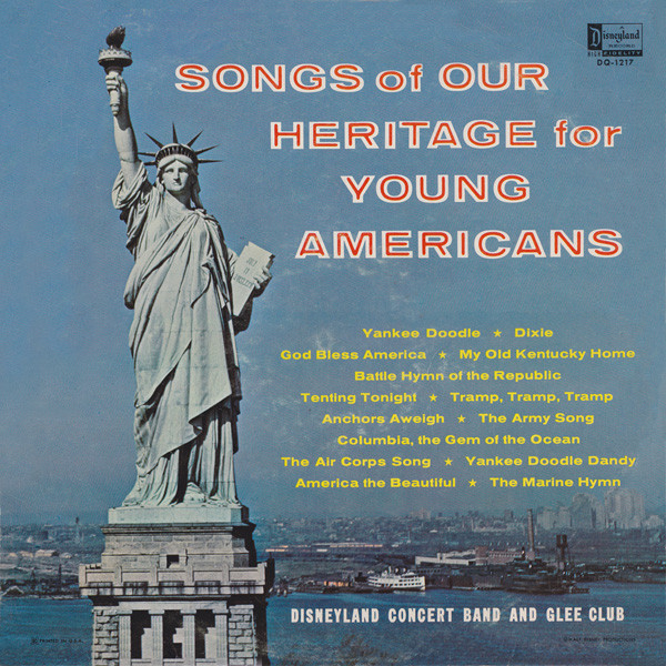 Songs Of Our Heritage For Young Americans Vinyl