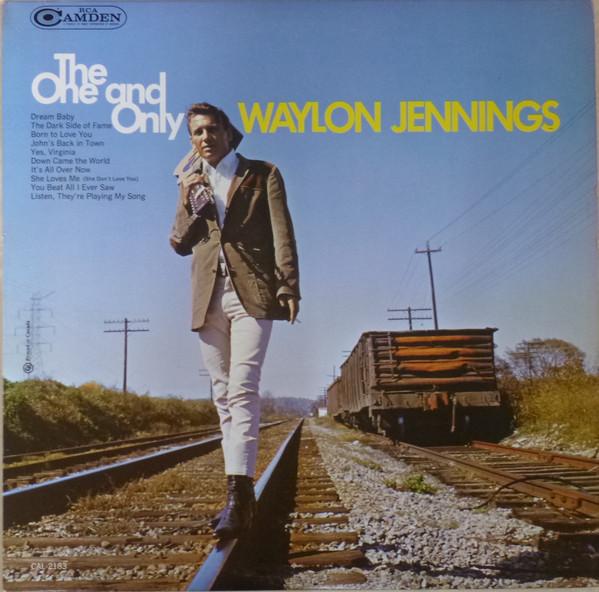 Waylon Jennings Vinyl Record Albums
