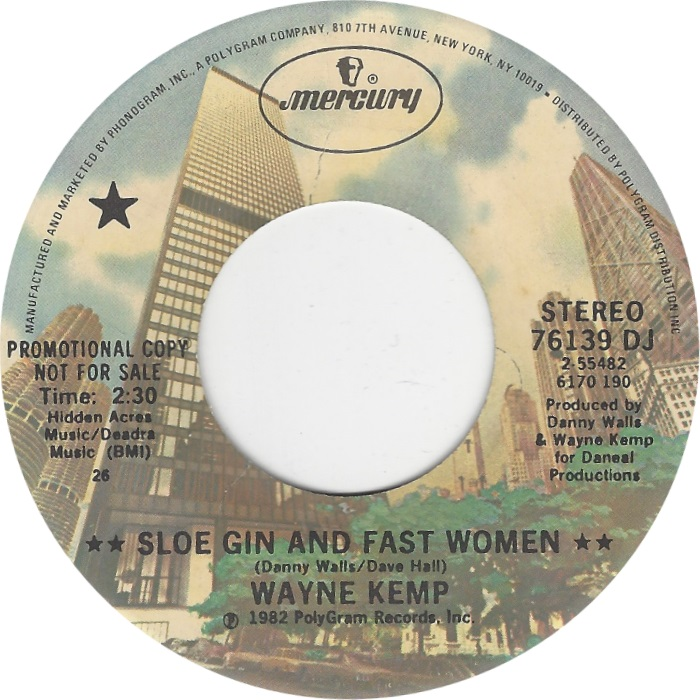 Sloe Gin And Fast Women / I'm The Man