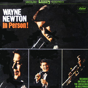 Wayne Newton Wayne Newton In Person! LP
