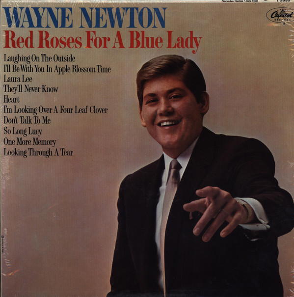 Wayne Newton Red Roses For A Blue Lady LP