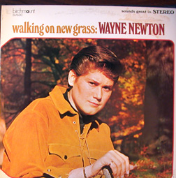 Wayne Newton Walking On New Grass LP