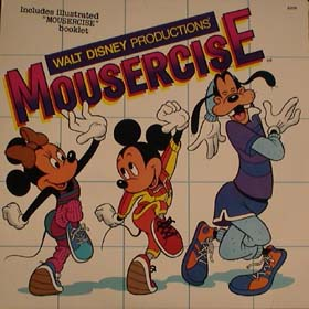Walt Disney Mousercise - Mousercise [original Recording] [soundtrack] [vinyl] Walt Disney