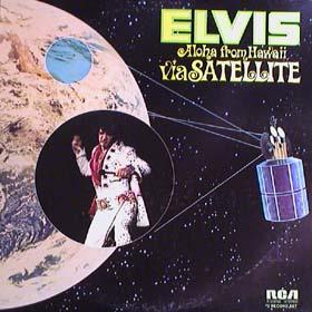 Elvis Presley - Aloha From Hawaii Via Satellite LP
